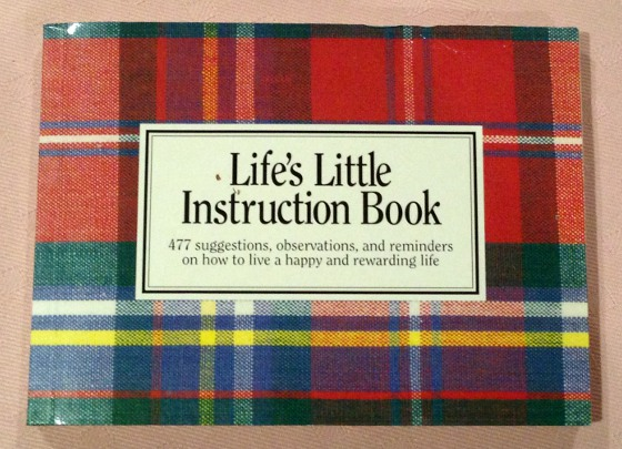 Lifes Little Instruction Book The Blog Of Charles