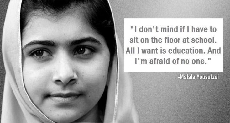 Books And Pens Are The Most Powerful Weapons Malala Yousafzai The Blog Of Charles