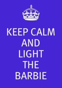 Light the Barbie