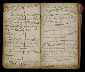 Notebook of Mark Twain