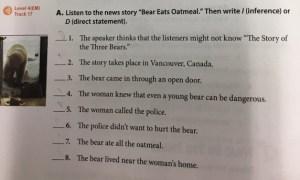 Bear Oatmeal